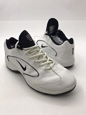Nike Air Max Golf Men's Shoes Style# 183273-101 Ln2 White/Black Leather Size 8.5