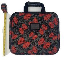 Betsey Johnson Betseyville Leopard Cheetah Animal Print Laptop Case Sleeve