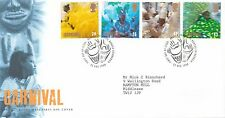 (49846) Gb Fdc Carnival - Bureau 25 August 1998
