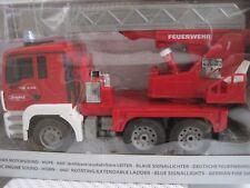 LKW MAN Feuerwehr Drehleiter *NEU* ca. 36cm RC m. Fernsteuerung Licht Sound