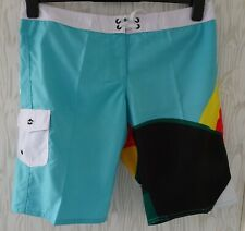 "BILLABONG ~ BOARDSHORTS ~SURF SWIM SHORTS~  W30"" ~ TOM VEIGA ~£65~ SLIMFIT"