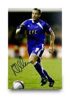 Neil Harris Hand Signed 6x4 Photo Millwall Genuine Autograph Memorabilia + COA