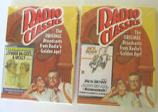2 FACTORY SEALED RADIO CLASSICS CASSETTE FIBBER McGEE & MOLLY & JACK BENNY