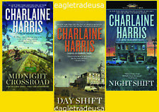 Midnight Texas Series Set Books 1-3 by Charlaine Harris - BRAND NEW!
