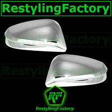 14-15 Toyota RAV4 RAV 4 W/O Turn Signal Triple Chrome Plated Mirror Cover 2015