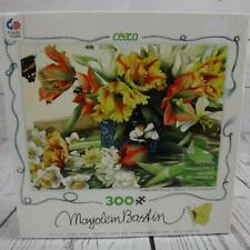 Marjolein Baskin 300pc Piece Puzzle Daffodils Tulips Butteryfly 100% Complete