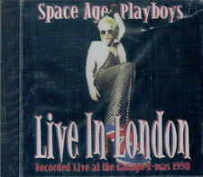 1/259 - Space Age Playboys ‎- Live In London - CD SIGILLATO.