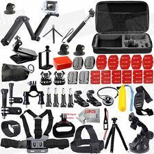 Accessories Kit Three way Selfie Stick for Gopro hero 5 4 3+ 2/ SJCAM/ EKEN H9R