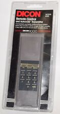 Vintage Dicon 9000 Security System R901 Remote Control and Autocode Transmitter