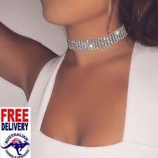 Crystal Rhinestone Choker Necklace Girls Women Chokers Wedding Party