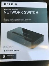Belkin F4G0800 8-port wired network switch