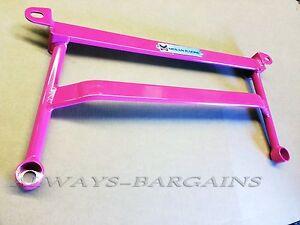 Megan Racing H Brace Fits Subaru Impreza STI WRX 02 - 07 Pink SB-HBWRX
