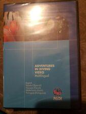 Adventures In Diving Video - Padi (Dvd 2008) Certified Diver