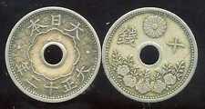 JAPON  10 sen  1923