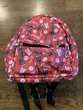 Official Licensed Product Coca-Cola Mini Faux Leather Backpack