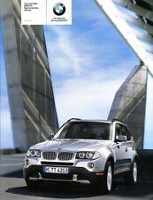 2007 BMW X3 Series Original Sales Brochure Mint