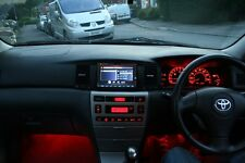 Red LED Conversion Kit (CC Roof Parkers Plates ect) Toyota Corolla E12 E120