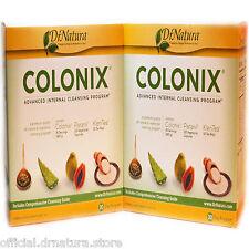 2 Two Sets Dr Natura Colonix Advanced Intestinal Body Colon Cleanse Programs New