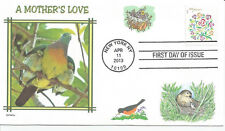 BIRDS   A MOTHER'S LOVE        FDC- DWc  CACHET