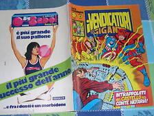 EDIZIONE CORNO - VENDICATORI SERIE CRONOLOGICA # 5- ORIGINALE-1980-SW17