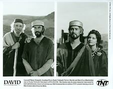 LEONARD NIMOY JONATHAN PRYCE NATHANIEL PARKER SHERYL LEE 95 TNT 'DAVID' TV PHOTO