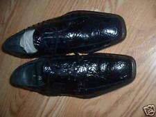 Giorgio Brutini blue leather ostrich shoes size 9