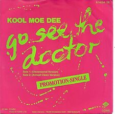 "Kool Moe Dee - Go see the Doctor (1986) GERMANY 7""  PROMO"