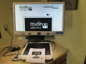 "Enhanced Vision 24"" Merlin Elite Pro HD Low Vision Magnifier OCR READ $3895 NEW!"