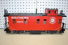 LGB 45790 Southern Red Caboose Car w/Lights & Metal Wheels *G-Scale*