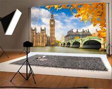 Big Ben Thames River 7x5ft Photography Backgrounds Vinyl Photo Backdrops Props
