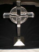 Vtg 1940's LALIQUE Jesus Christ on Cross The Crucifix Sculpture Statue Figurine