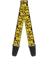 Avengers Iron Man Guitar Strap - Iron Man Face CLOSE-UP Stacked New (0126)
