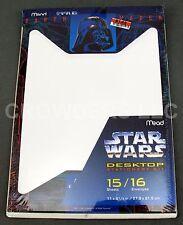 Star Wars Desktop Stationery Kit Mead Darth Vader 15 Sheets 16 Envelopes '96 NIP
