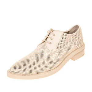 RRP €630 MARSELL Leather Derby Shoes EU 37 UK 4 US 7 Openwork Made in Italy