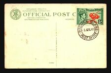 Pitcairn Islands 1941 Postcard / Canceled / Light Creases - Z16551