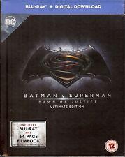 BATMAN v SUPERMAN: DAWN OF JUSTICE Limited Edition DigiBook (Region Free UK)
