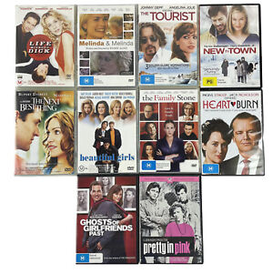 Bundle Lot Of 10 Romantic Comedy DVDs The Next Best Thing, New In Town, Tourist