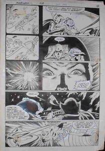 Power Lords 3 Page 7 Original Comic Art