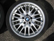 "GENUINE 18"" BMW STYLE 72 E46 MV SPORT ALLOYS + TYRES E36 3 SERIES Z3 Z4 1"