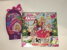 New Lot Barbie A Perfect Christmas Book & Snap Create N Go Travel Activity Games