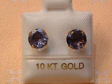 Iolith Ohrstecker - hell & klar - 3,0 ct. - 10 Kt. Gold - 417 - Brillant Schliff