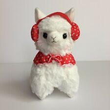 AMUSE Earmuff Alpacasso White Girl (16cm) Winter Arpakasso Alpaca Plush Japan