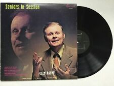 Glen Payne George Younce Seniors In Session 1973 Mint Lp+bonus Cd Cathedral Qt