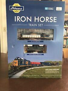 HO Scale Athearn Iron Horse Train Set CSX DCC Ready NOS (HO84113)