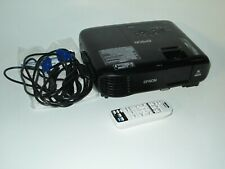 Epson Lcd Projector H846A Home Theater Office Presentation Elplp 96 Lamp Tested