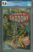 TOWER OF SHADOWS ANNUAL KING SIZE SPECIAL #1 CGC 9.6 WP RAREHiGRADE MARVEL 1971