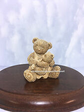 Cherished Teddies  Nancy and Eva 2011 UK Event UNPAINTED  SIGNED