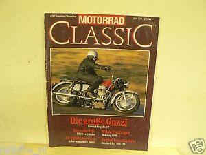 MOTORRAD CLASSIC 1989-06,MOTO GUZZI V7,URS STORY,HOREX,BING