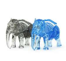 Blue Elephant 3D Crystal Blocks Puzzle Jigsaw 41pcs Intelligence Fancy Toy Gift