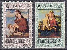 New Hebrides Hebriden 1970 ** Mi.299/00 Gemälde Paintings Weihnachten [sr2322]